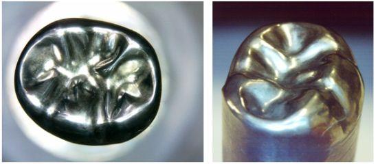 歯冠プレス用超硬パンチの製作