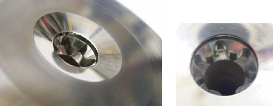 E型ヘクサロビュラ用超硬パンチ